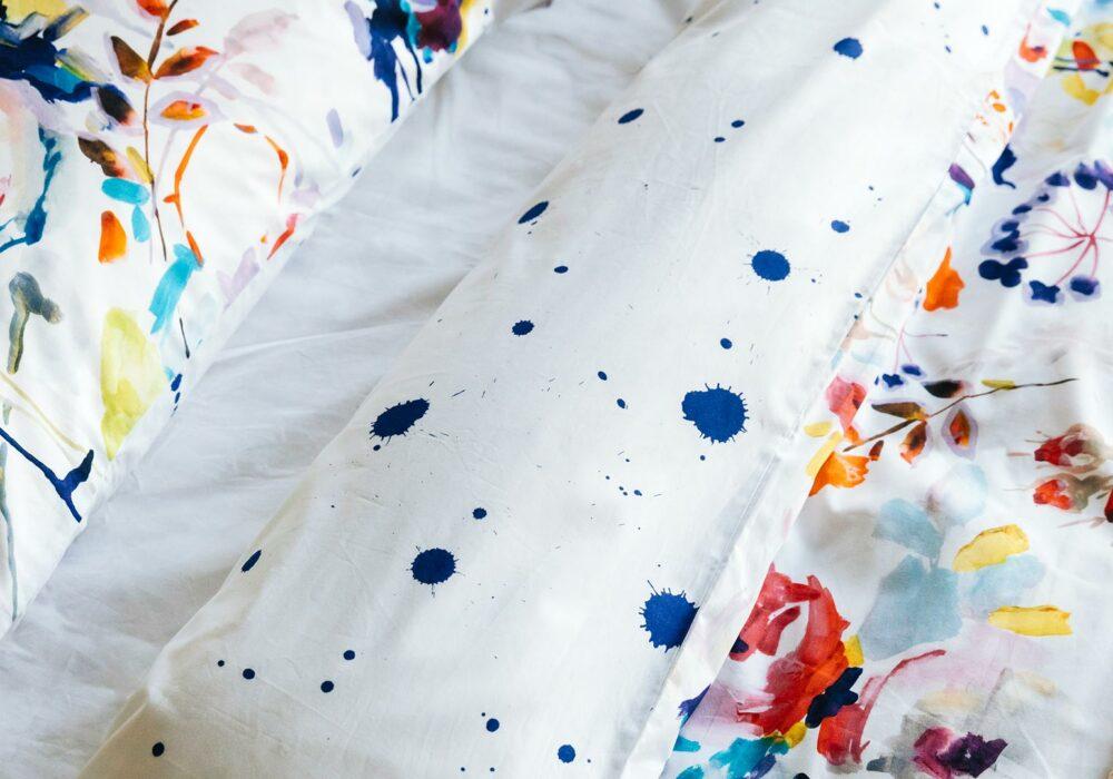 bright cotton duvet