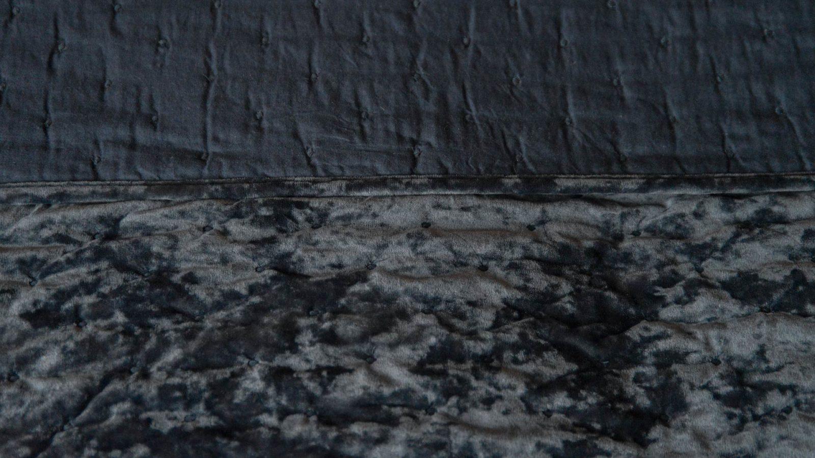 ink grey bedspread