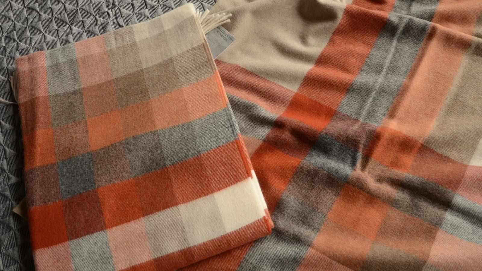saffron-throws-checkered-or-striped