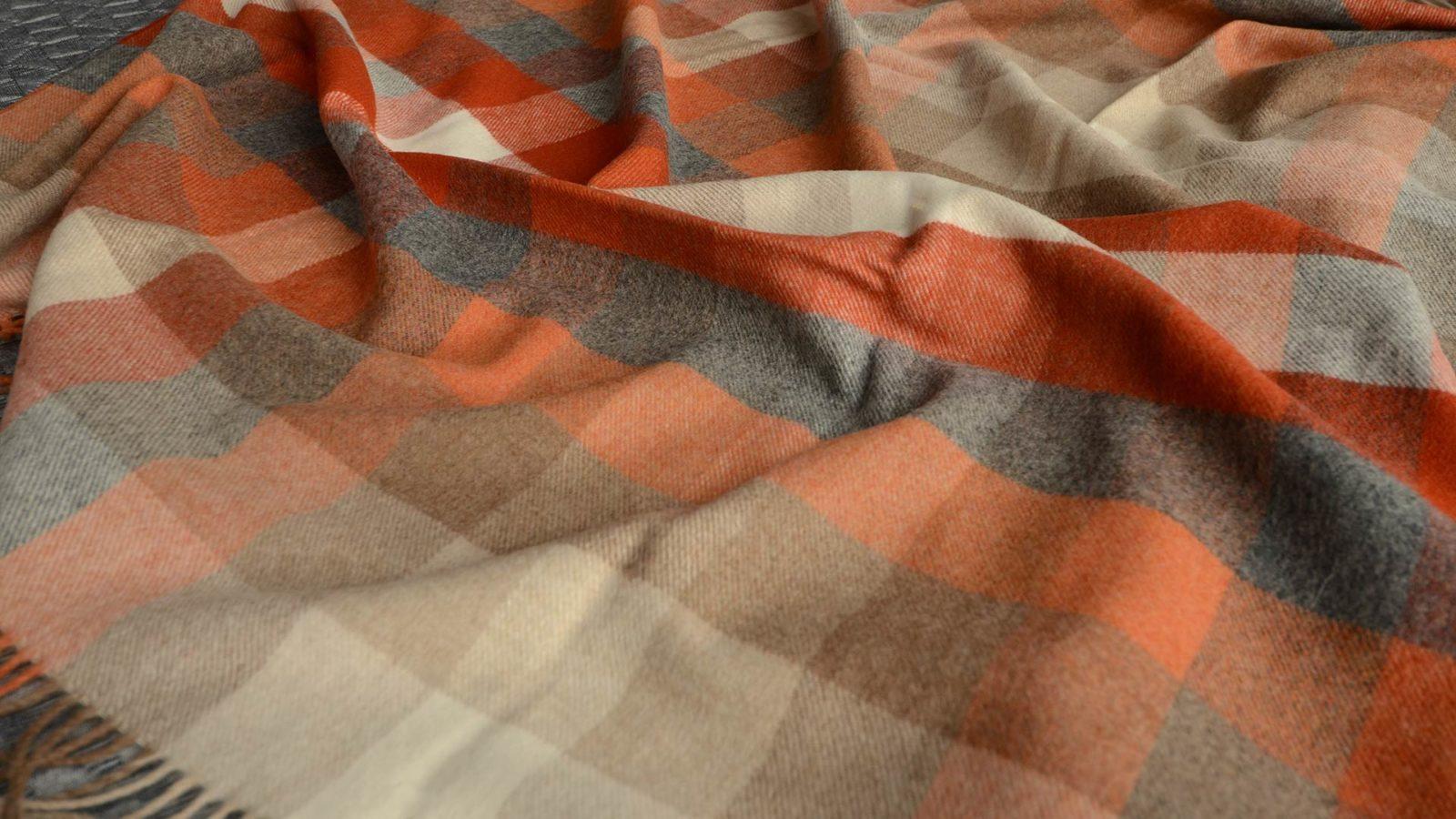 saffron-throws-checkered