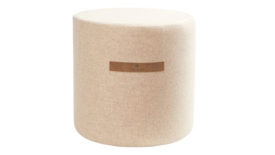 Wool covered stool - Sara design