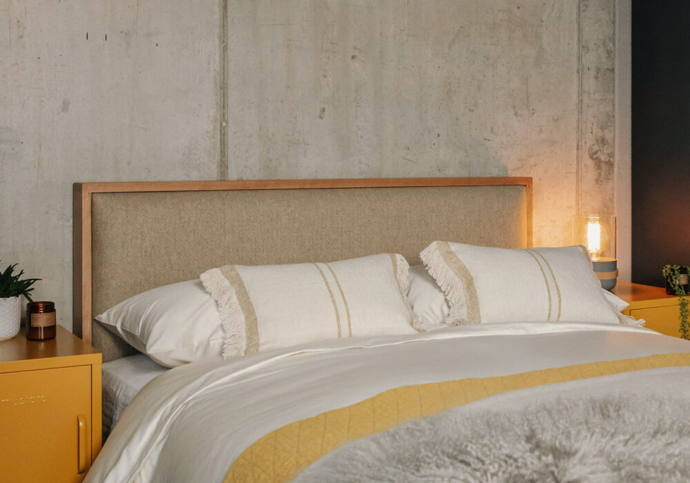 Organic cotton bedding in finest sateen