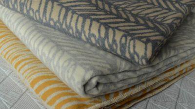 scribbled-stripe-cosy blankets