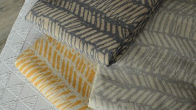scribbled-stripe-cosy blankets-stack