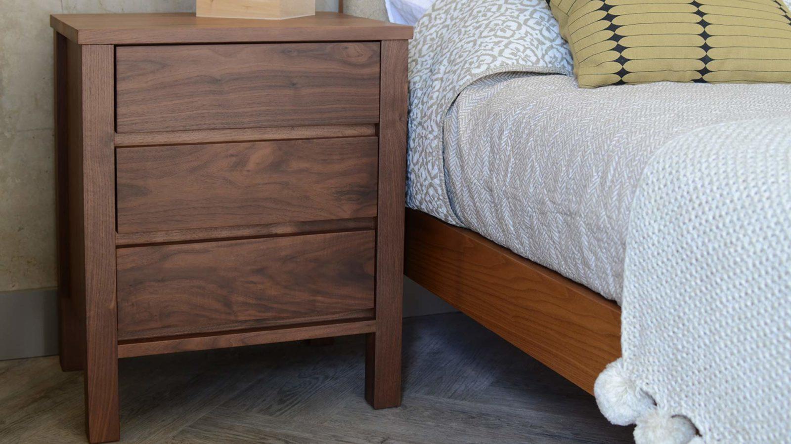 shaker-walnut-3-drawer-bedside-unit