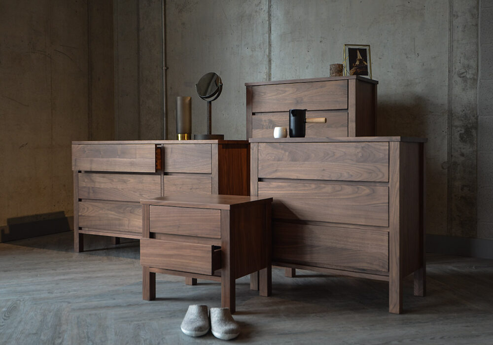 Walnut Bedroom Furniture - Shaker Collection