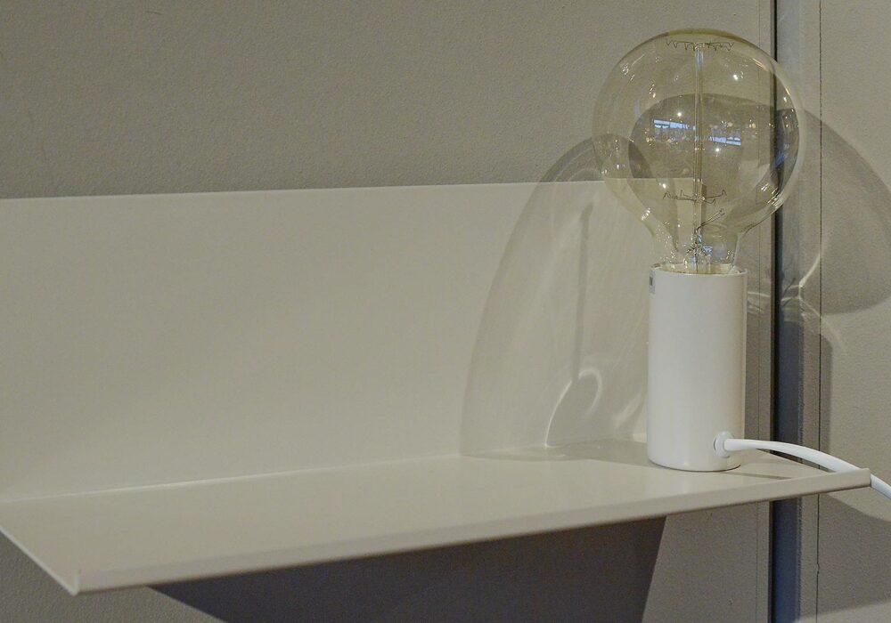 Bedside Shelf Lamp