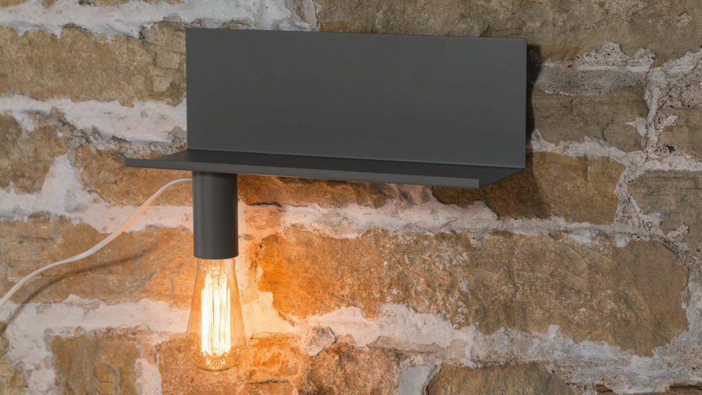 wall-shelf and lamp-mid-grey