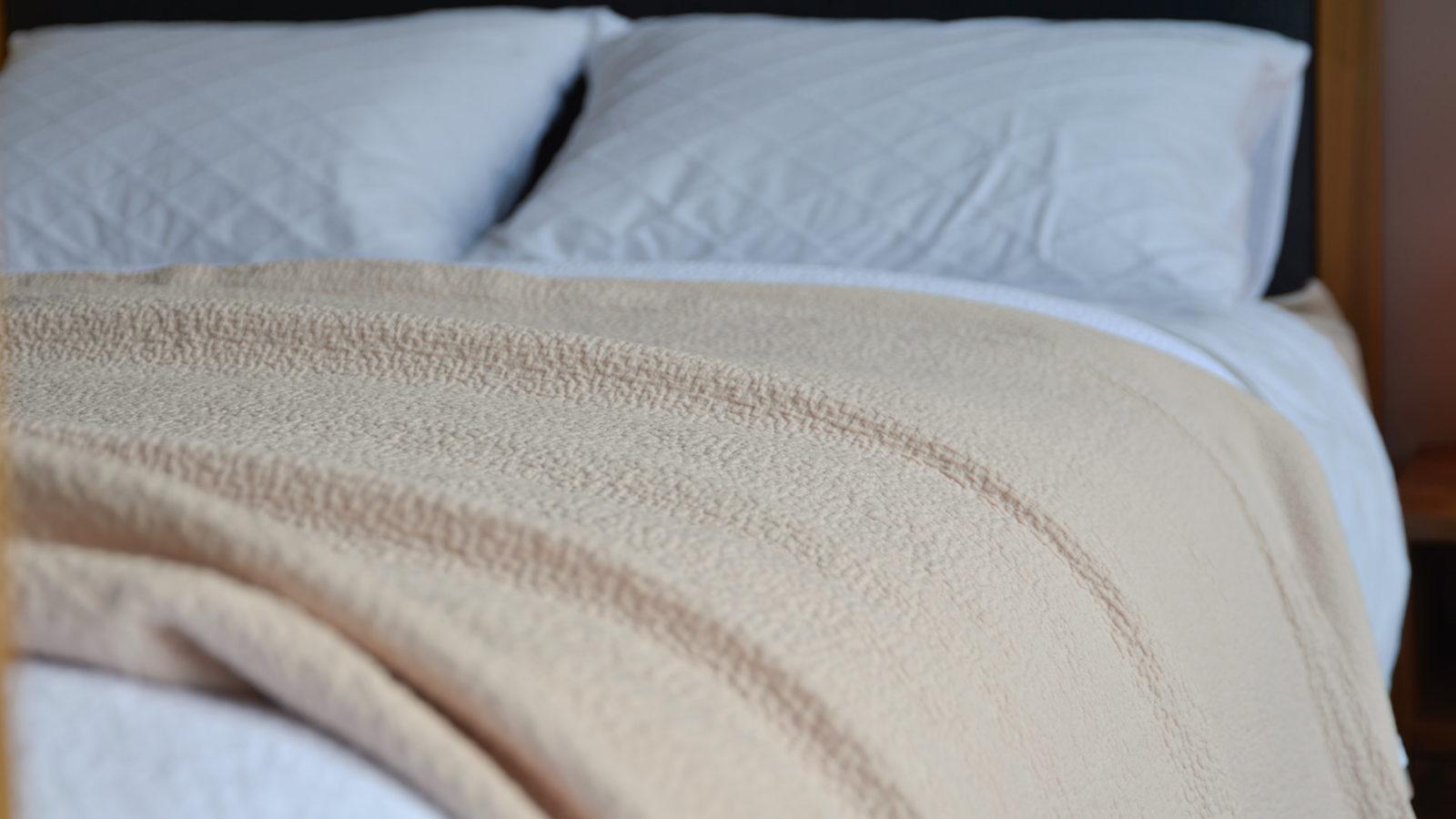 Shell Pink Bedspread