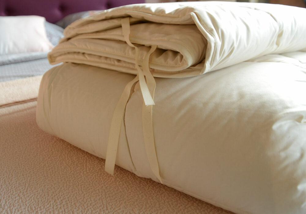 wild silk filled light weight duvet