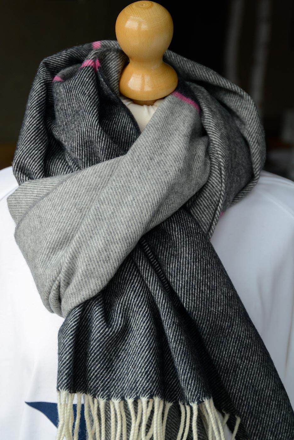 modern merino lambswool wrap
