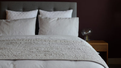 silver-grey-linen-bedding-with-ruched-quilt