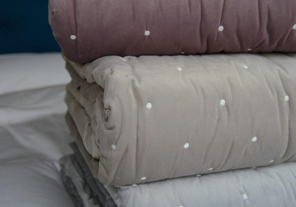 large-velvet-quilts-stack