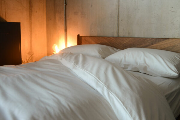 natural, ethical and organic ivory cotton bedding