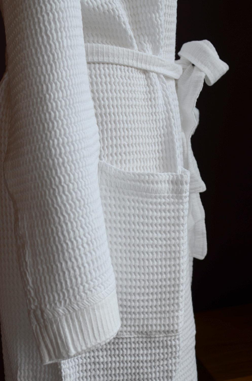 soft waffle-robe-white