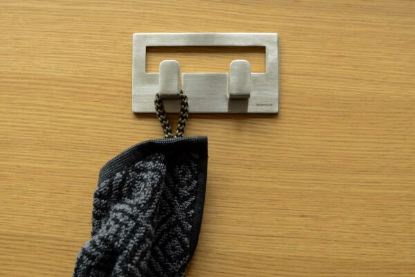 modern steel wall hooks