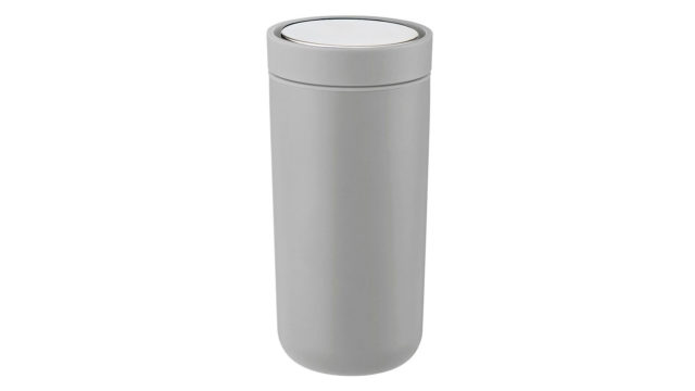 stelton to go cup matte grey