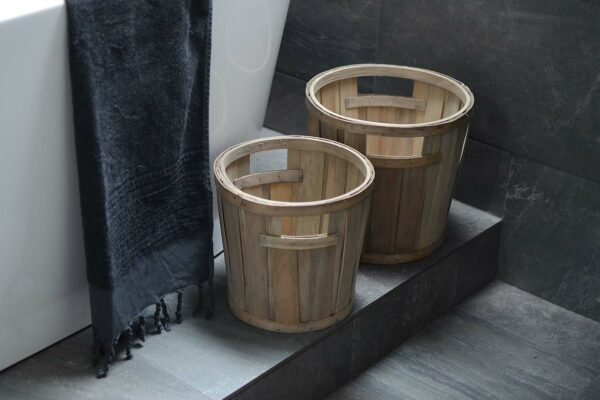 rustic storage-baskets