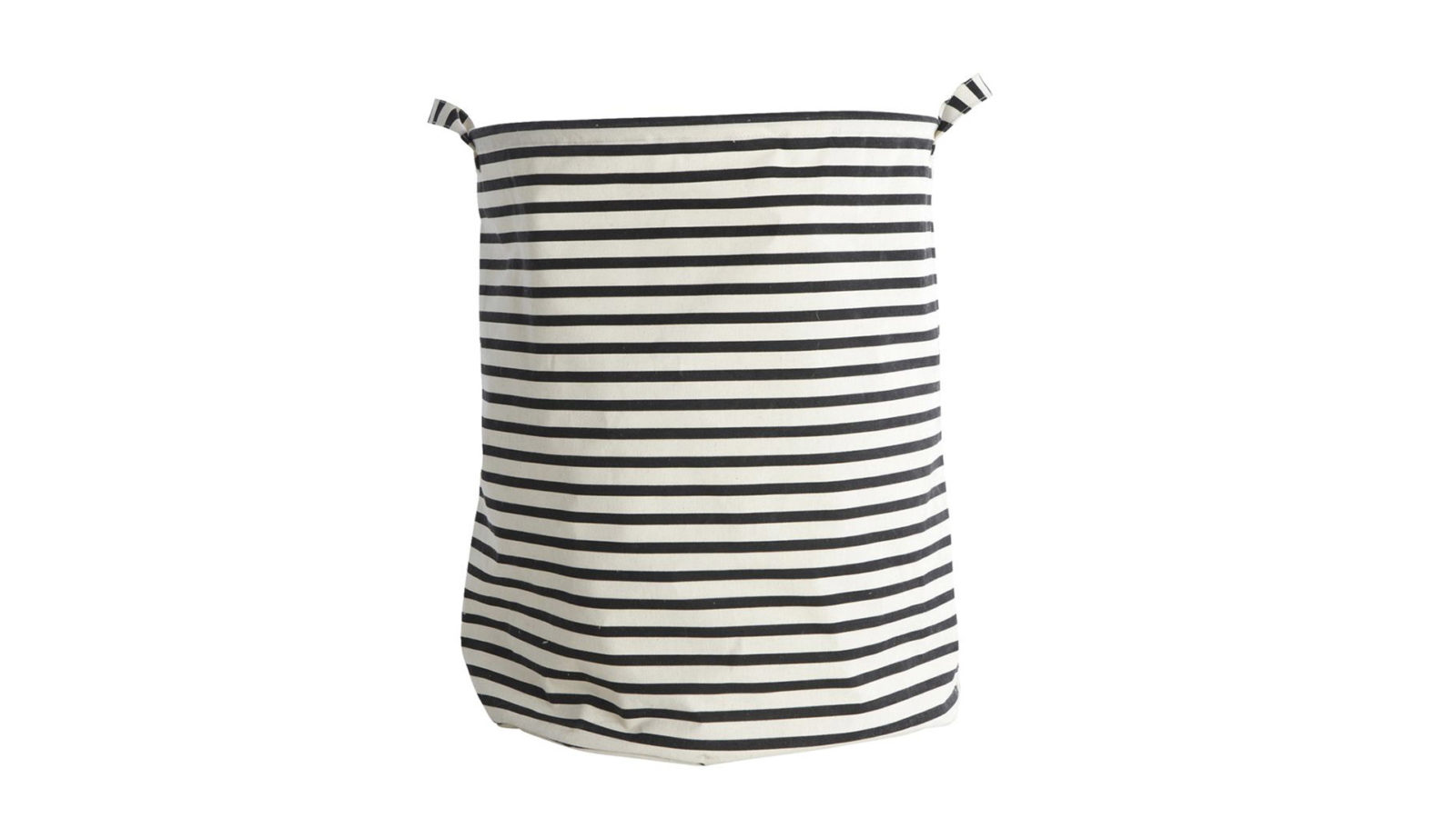 striped-fabric-laundry-bin