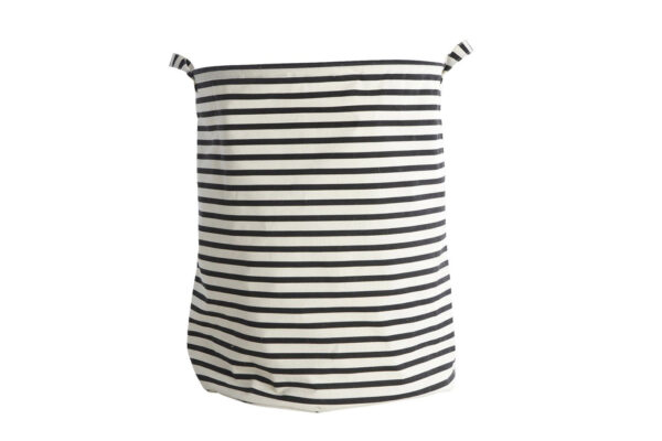 striped-fabric-laundry-bin