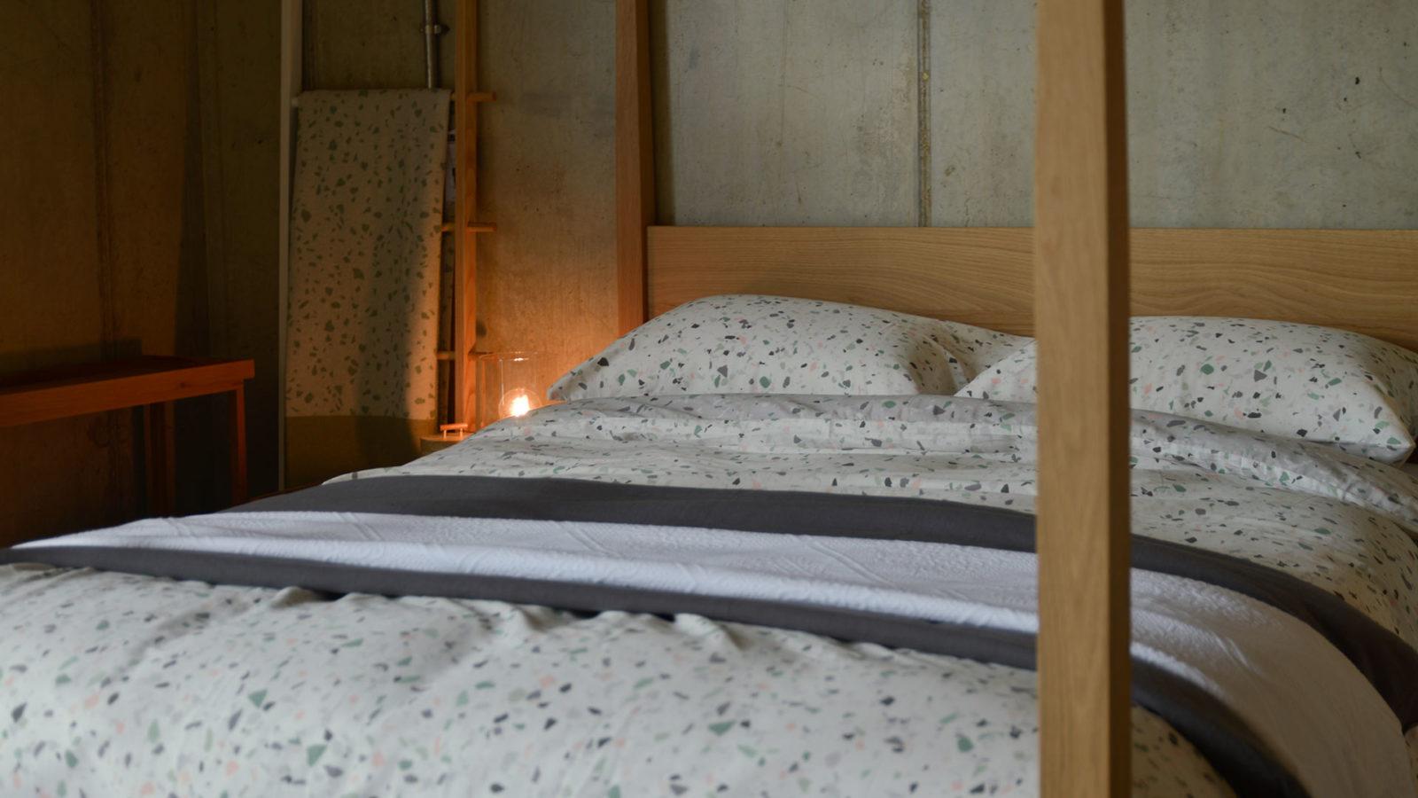terrazzo-print-duvet-set
