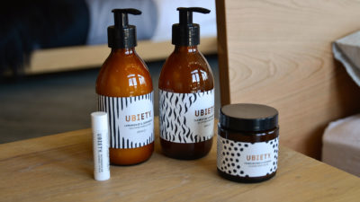 Ubiety toiletries collection