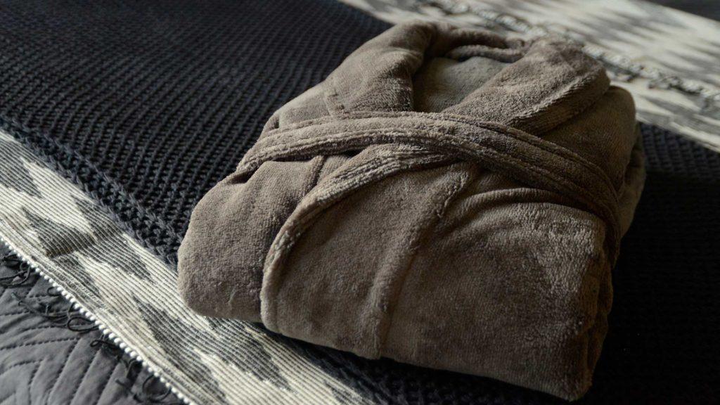 unisex towelling robe