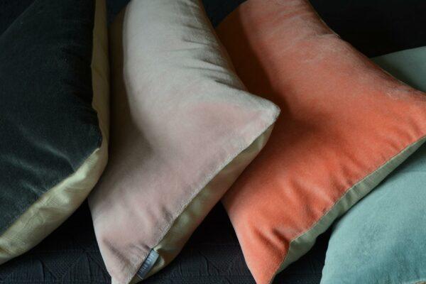 cotton velvet cushions
