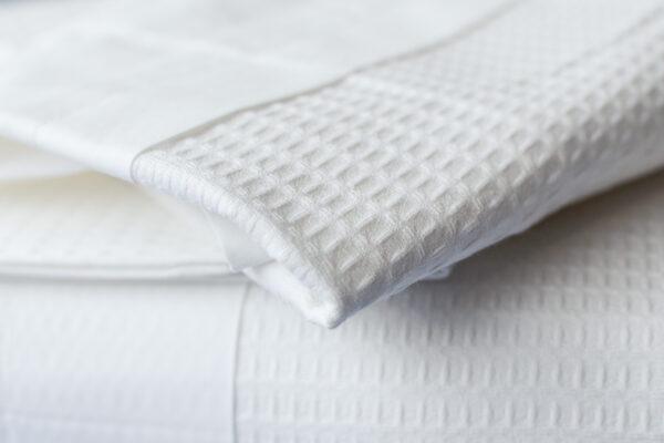 waffle cotton bedding