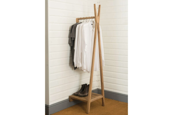 wooden wall mounted rail