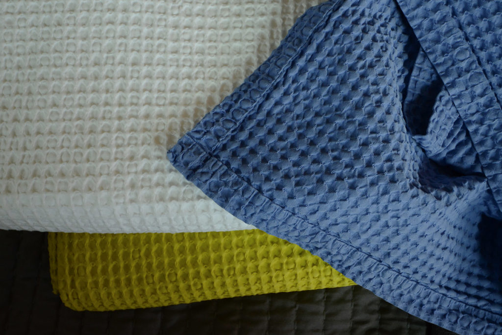 Also Home Cotton Waffle Throws in 3 colours