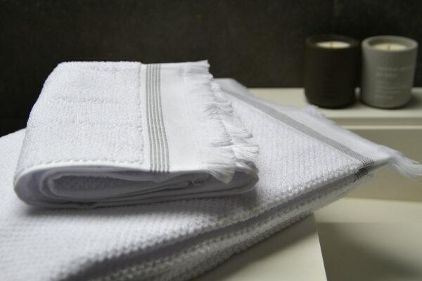 white Meraki cotton towels