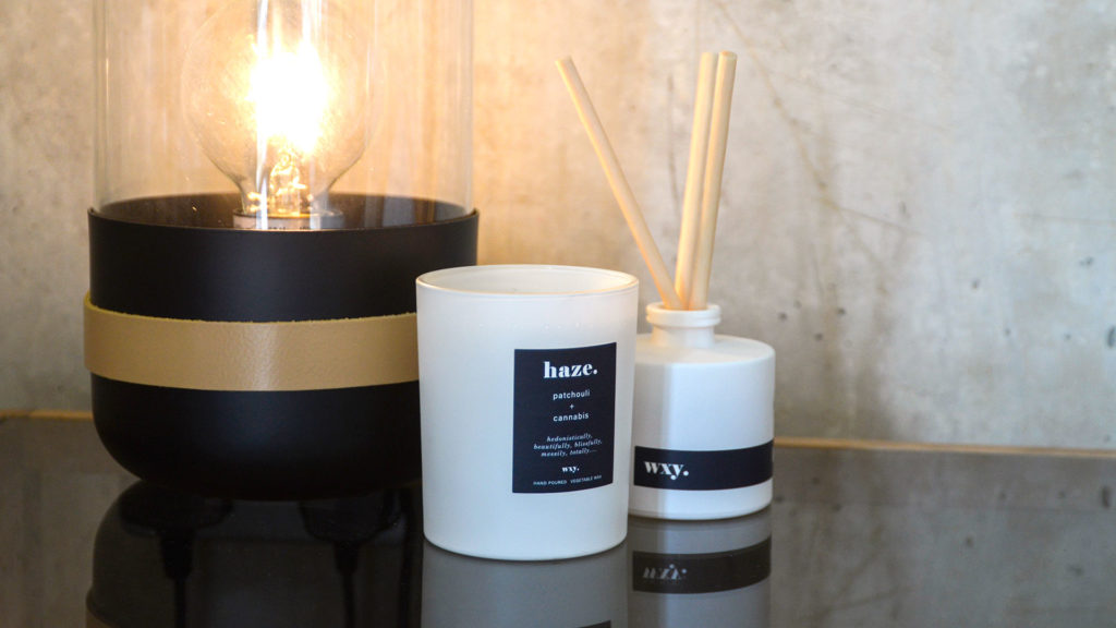 white-glass-candle-and-diffuser-haze