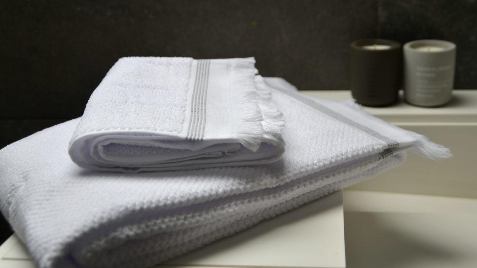 soft organic cotton towels