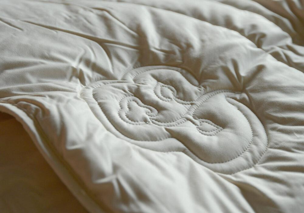 wild silk filled duvet light and hypoallergenic
