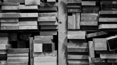 wood-stack-timber-BW