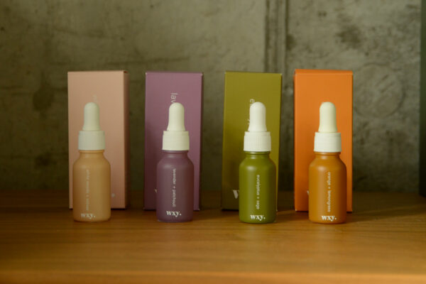 Essentail oils collection of scents for room scent diffusers