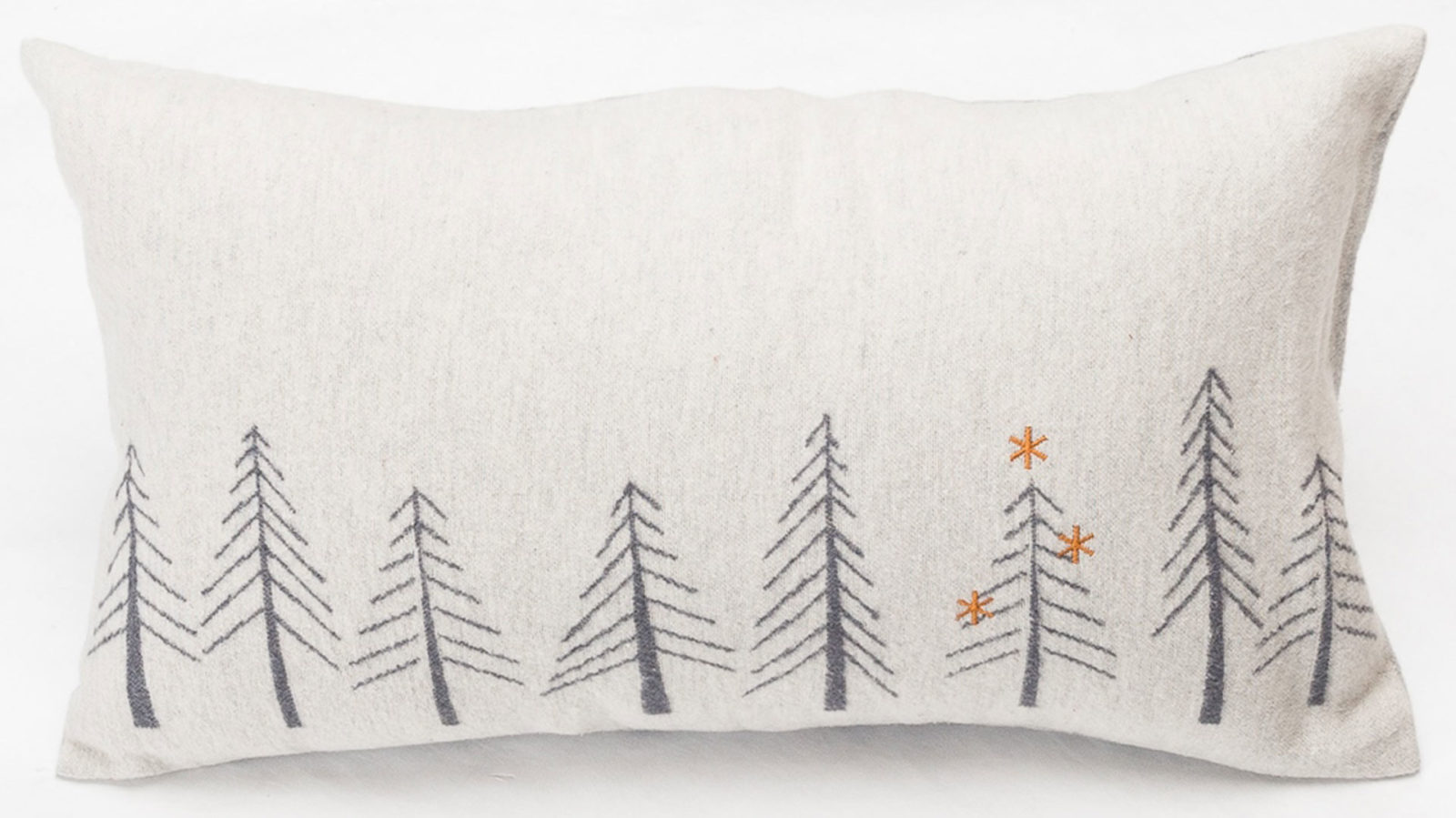 cosy cotton-rich cushion - Christmas Tree Design